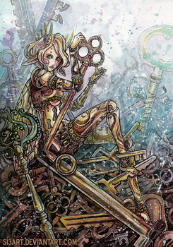 KeyKeeper+ PAINTING VID! by Si3art