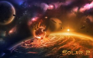 Solar 2 Planet Collision by Kamikaye