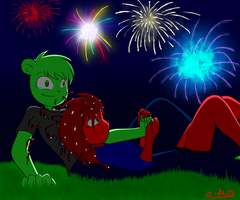 Fireworks and flesh wounds by Call-Me-Jack