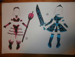 warrior princess outfit adoptable auction (closed) by Evil-Alice8Adoptable