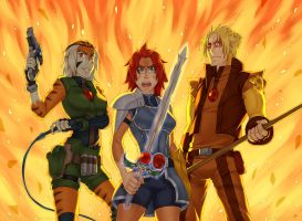 Thundercats - Never Retreat by piku-chan
