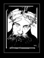 Alan Moore by NCMALLORY