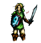Adult Link - Smash 3DS by FrankXG