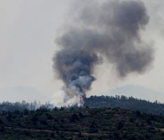 Waldo Canyon fire in Colorado.. by candysamuels