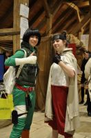 animuc2013: Rock Lee and Tenten by TheNikodemus