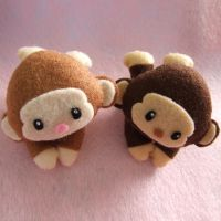 Monkeys Mini plushies by Mimi-Mushroom