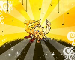 Chocobo Wallpaper 0 by chinochocobo