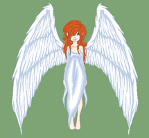 Angel Auction (Open) by Kat-and-Raven-ADOPTS