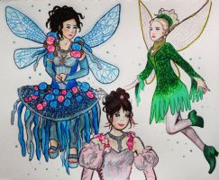OUAT Faries by HollyRoseBriar