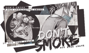 DON'T SMOKE by Mato-Kuroi26