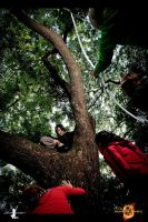 The Hunger Games: Up A Tree by JoviClaire