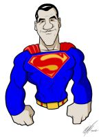 superman collage Dean Cain by Kryptoniano