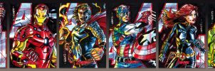MARVEL 2012 Greatest Heroes Avengers by PencilInPain