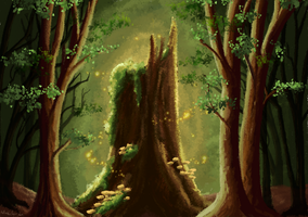 Serene Woods (final version) by Biali