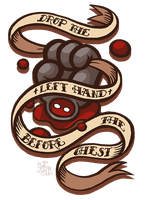 Drop the Left Hand Tattoo by IntroducingEmy