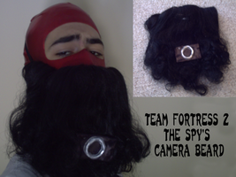 TF2 The Spy's Camera Beard by SlienceMaster