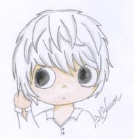 Death Note - Chibi Near by pink-blossom