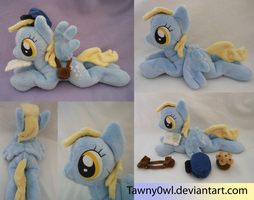 Mlp:FiM Laying Derpy Hooves Plush by Tawny0wl