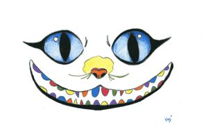 Cheshire Cat185 by ice-ice-lady