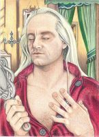 VANITY- Narcissus Malfoy by tavington