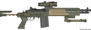 Gunnut51s Birthday Mk 14 EBR by Super6-4