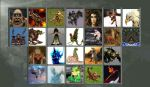 Monsters of Ancient Mythology Select Screen by Gery850
