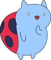 Catbug Vector by Neighthirst