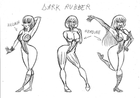 Dark Rubber_Models by Frogwalker