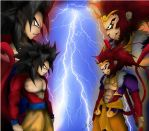 The Clash - Son Goku VS Sun Wukong by onirinku