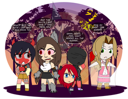 The Square Enix Costume Party 2 by Dragon-FangX