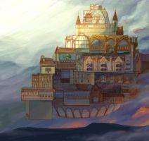 The Floating City by andromoda