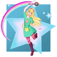 Star Butterfly - Star vs the Forces of Evil by CainDream