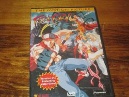 Fatal Fury The Motion Picture on DVD by mylesterlucky7
