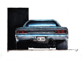 Plymouth Satellite 1970 by vsdesign69