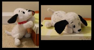 Small Lucky Dalmatian Plush by AlixRae