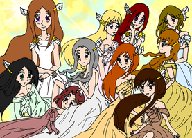 Beautiful Goddesses by MagicalVeronica