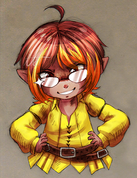 Lalafell [CM] by Nathaniel-Ahryss