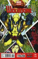 Savage Wolverine colored by Dingodile24