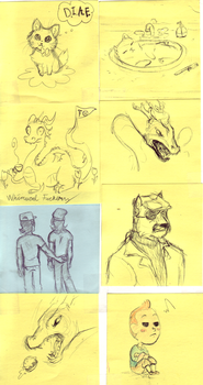 sketchbook page 69 by Pigeonfeather