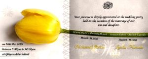 Wedding Invitation 2006 by Morefeous