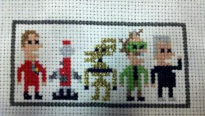 Mystery Science Theater stitch by starrley