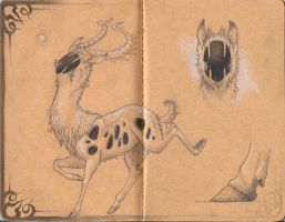 un-Named Hollow deer by Bueshang