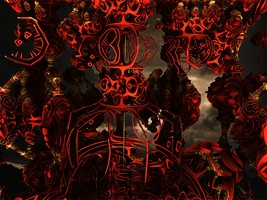 Be aware of the Red Fractals by PhotoComix2