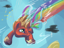 Rainbow Boost by Lukeine