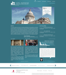 Paris law school web interface proposal 2 by Seyart