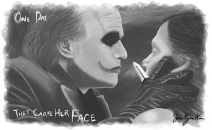 One Day They Carve Her Face by NoxPsycho