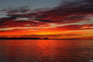 Fall Sunset Series #96 by LifeThroughALens84