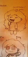 Chibi me faces 04 by mirry92