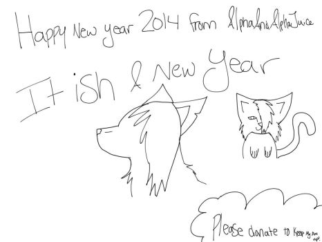 HAPPY NEW YEAR! by AlphaAndAlphaJuice
