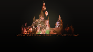 Hogwarts always be there by avadaxkedavra